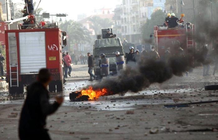 Массовые беспорядки в Египте (91 фото)