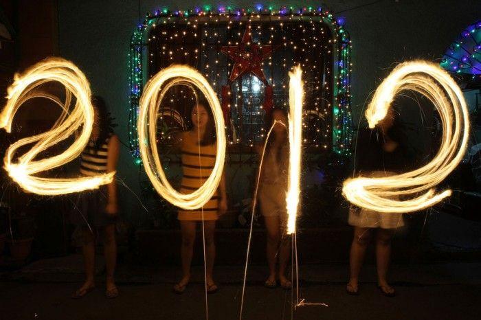 Новый год 2012 в разных странах (40 фото)