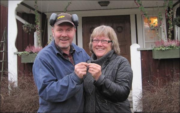 Чудесная находка – обручальное кольцо, потерянное 16 лет назад (2 фото)