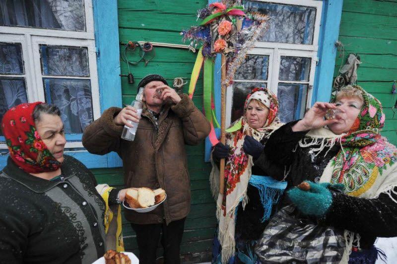 Традиции встречи Нового года во всем мире (25 фото)