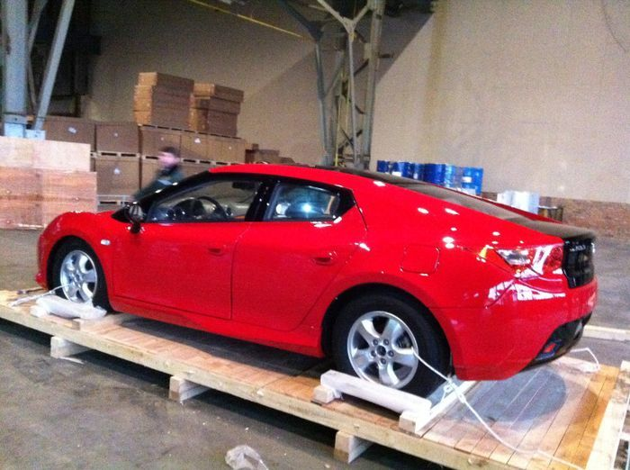 Шпионские фото нового автомобиля компании ТагАЗ (5 фото)