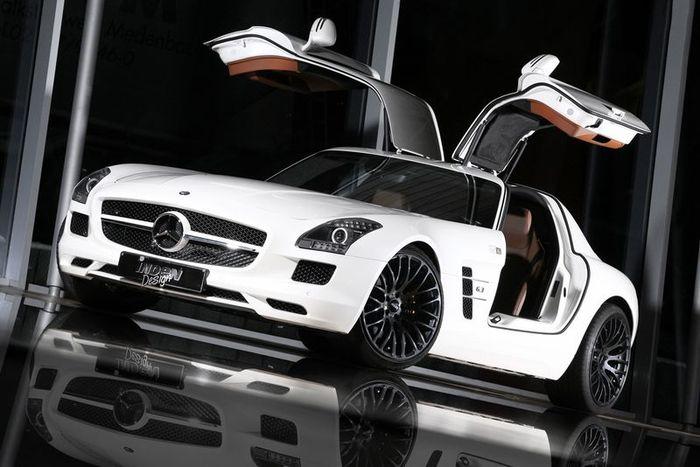 Mercedes SLS AMG от ателье Inden Design (8 фото)