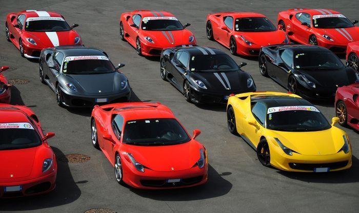 Ferrari Racing Days в Австрии (61 фото)