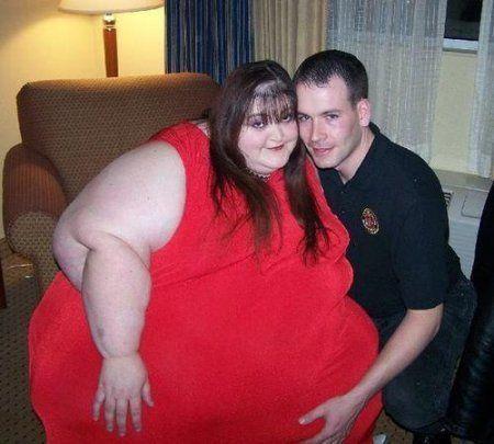 Самые необычные любовные пары (6 фото)