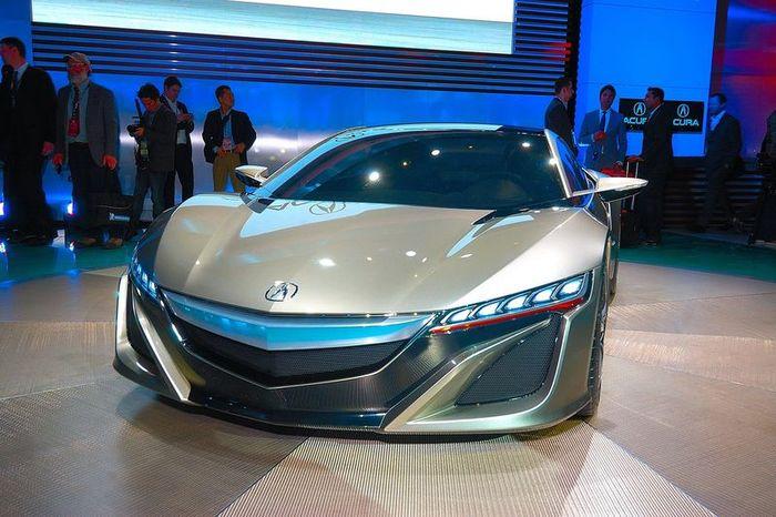 Компания Honda представила новый концепт NSX под брендом Acura (27 фото+2 видео)