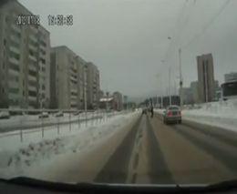 Не заметил пешехода???
