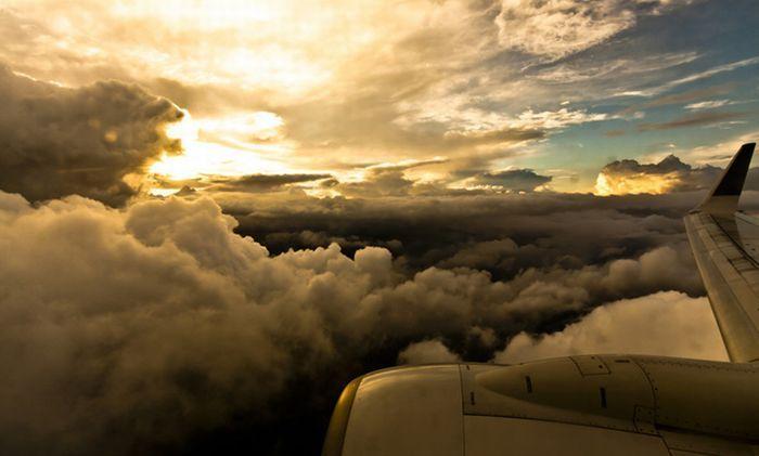 Потрясающей красоты облака (39 фото)
