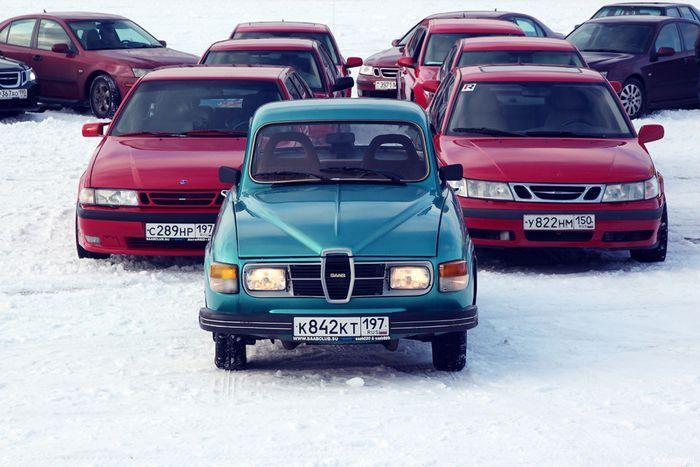 В Москве прошла акция в поддержку компании SAAB (110 фото)