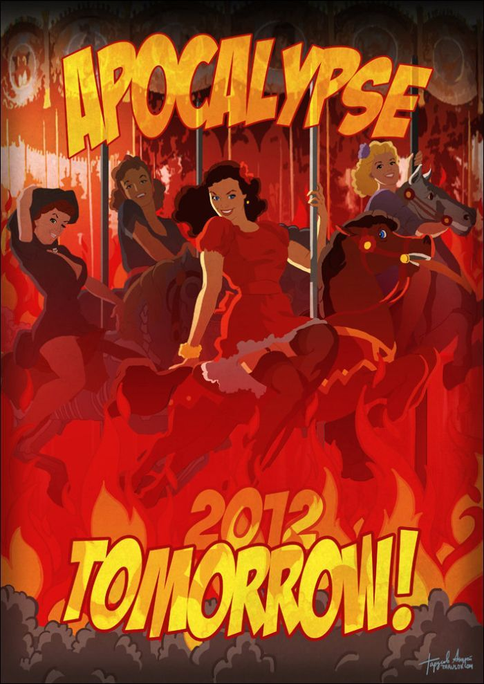 Pin-Up календарь на 2012 год (14 фото)