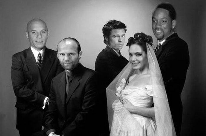 Звезды Голливуда в наших фильмах (32 фото)