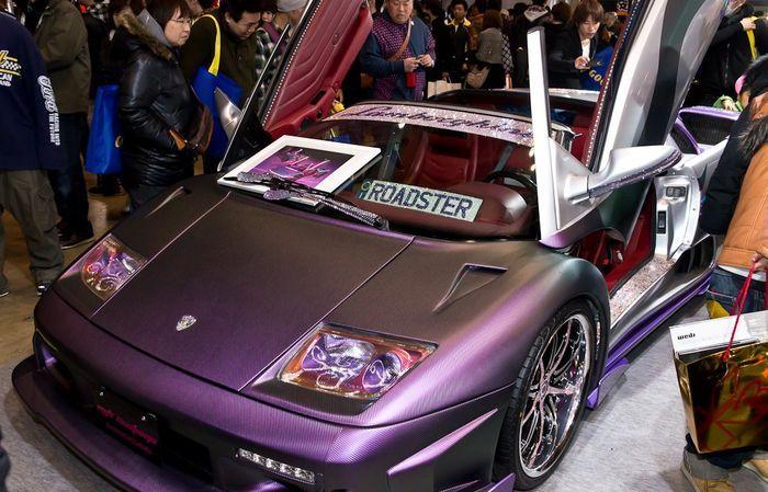 Автомобили-участники Tokyo Auto Salon 2012 (123 фото)