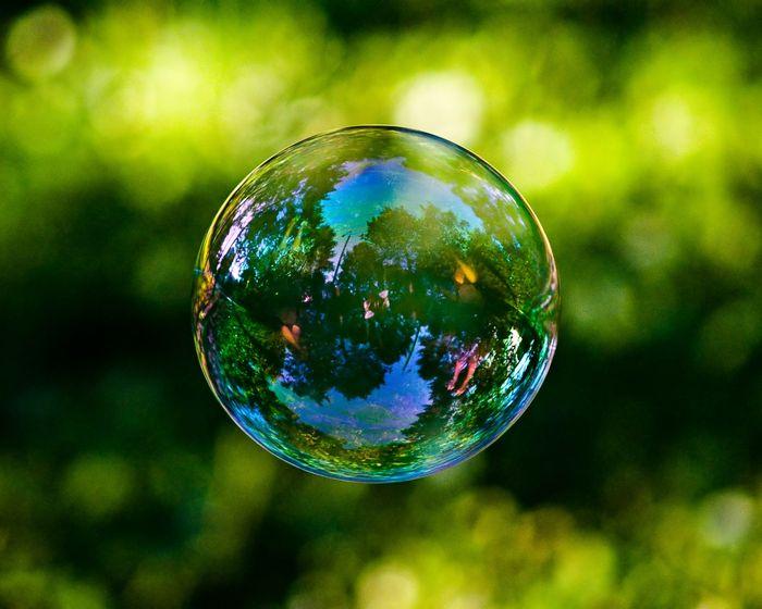 Мыльный пузырь в домашних условиях (флэшка)