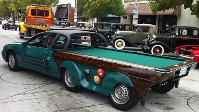 Авто для фанатов бильярда (5 фото)