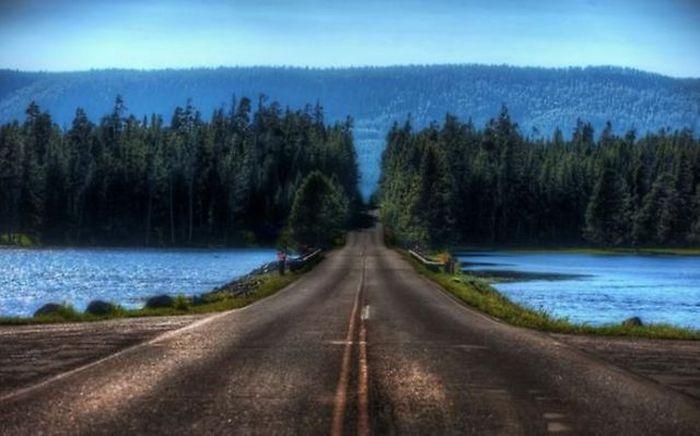 Самые красивые дороги (28 фото)