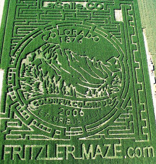 Удивительные кукурузные лабиринты (13 фото)