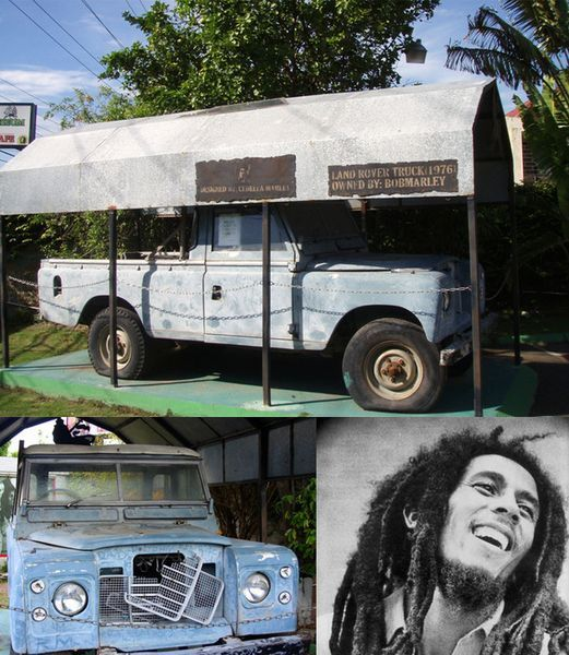 Land Rover Боба Марли заново отреставрируют (10 фото)