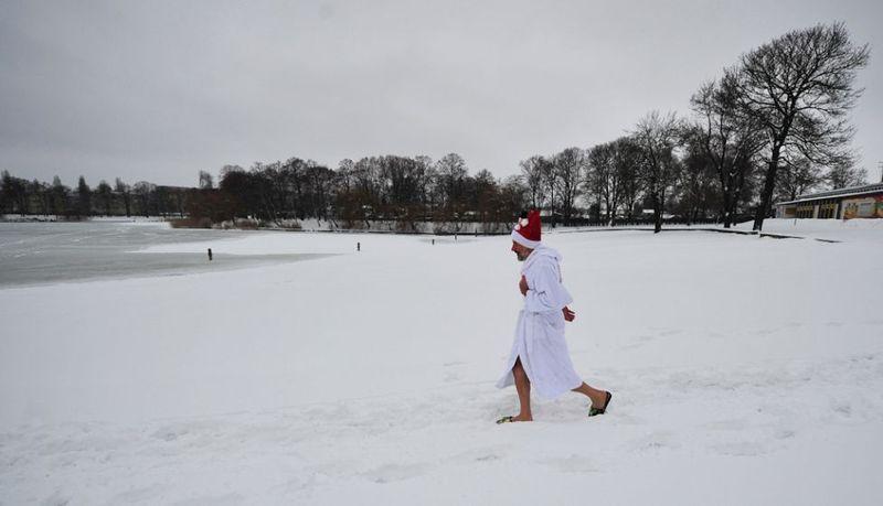 Зимние купания (15 фото)