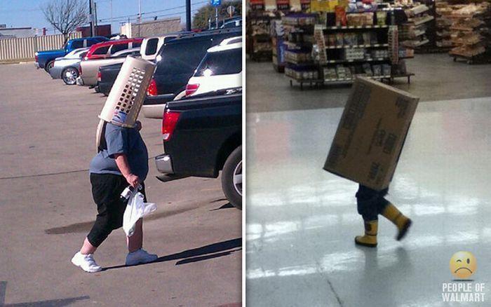 Интересные люди в супермаркетах. Часть 10. (60 фото)