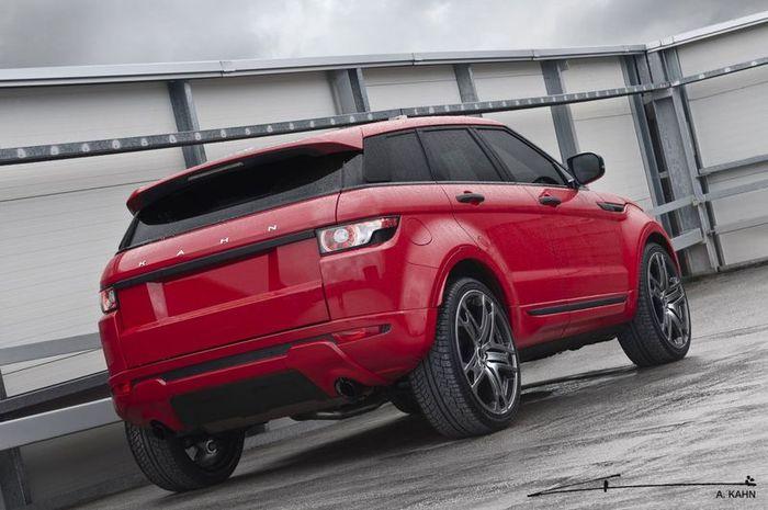 Range Rover Evoque от ателье Project Kahn (7 фото)