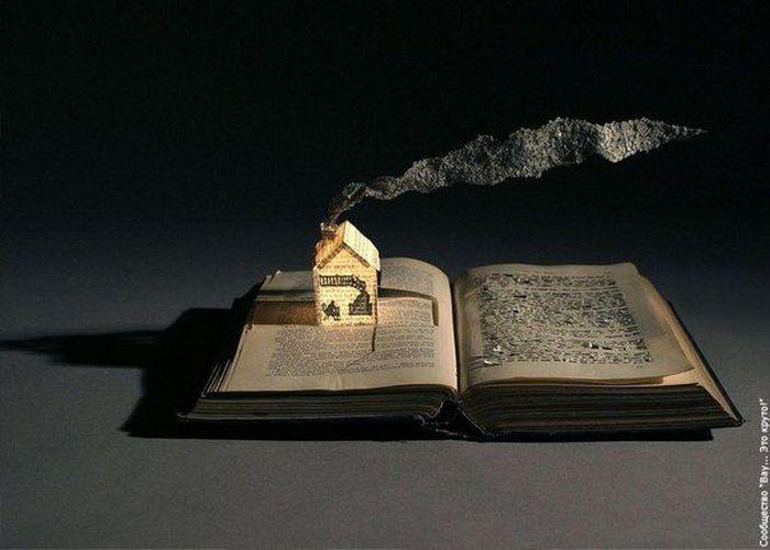 Таинственный мир из бумаги от Сью Блэквелл (10 фото)