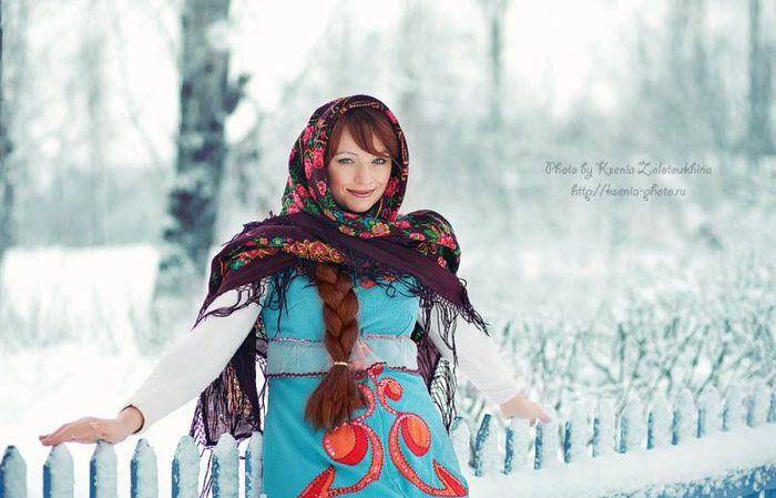 Фотопроект Русская красавица (42 фото)