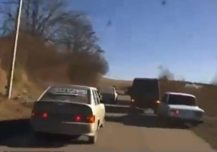 Беспредел на чеченской дороге