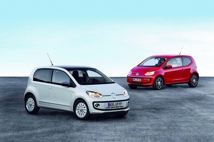 Официальные фото нового Volkswagen up! 5D (12 фото)