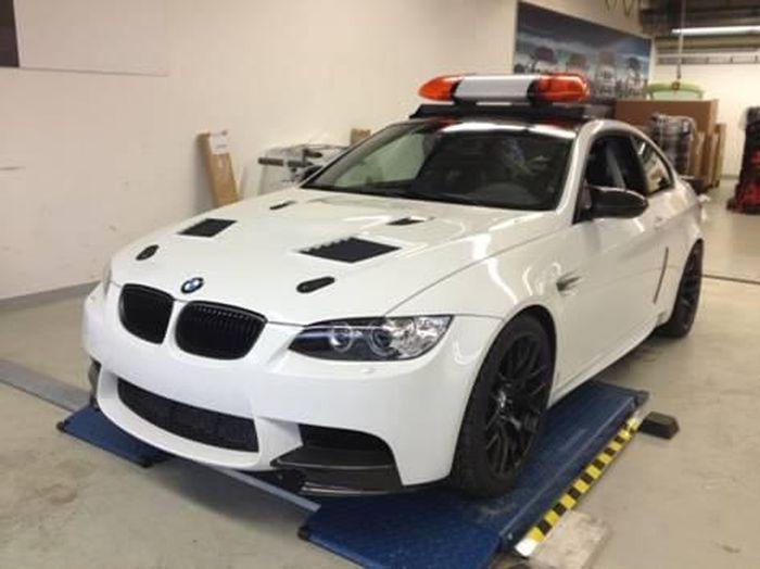 Новый safety car на базе BMW M3 для участия в DTM (5 фото)