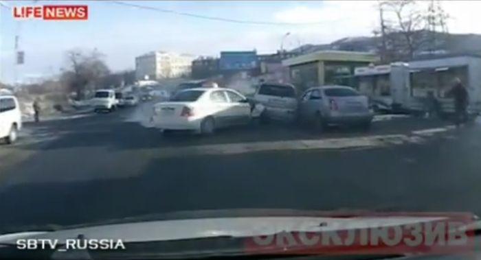 Авария дня часть 435 (фото+видео)