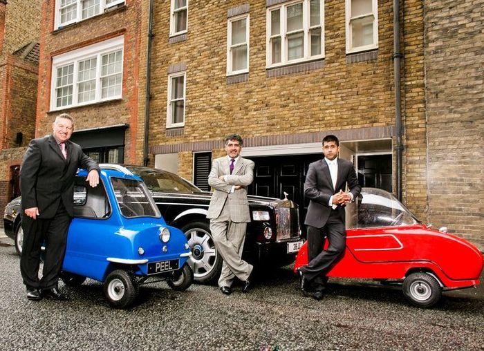 Самый маленький авто в мире снова возрождают в Великобритании (12 фото)