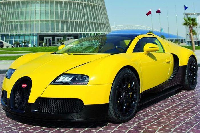 Bugatti Veyron Grand Sport представили на Qatar Motor Show (14 фото)