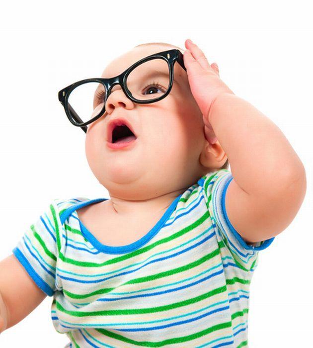 Дети в очках смешные фото