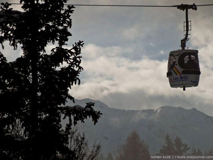 Как это устроено: горнолыжный курорт. (37 фото)