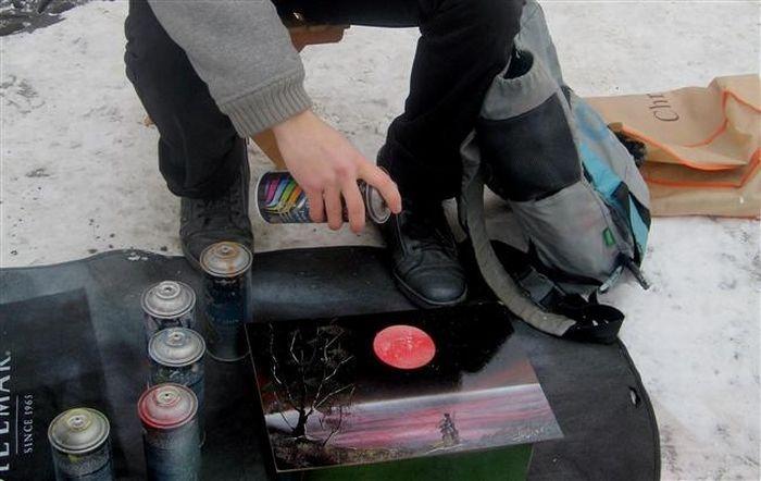Рисунки баллончиком в стиле Spray Paint Аrt (13 фото)