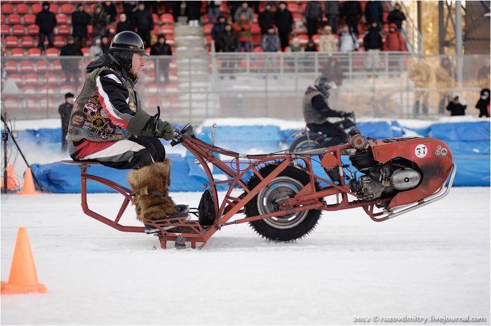Зимний UNIMOTO в Тольятти (57 фото)