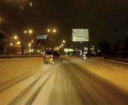 Дрифт по ночной Москве