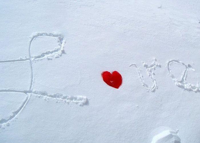 Ледяное сердце своими руками (7 фото)