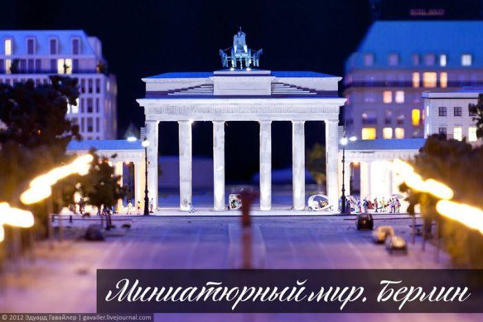 Миниатюрный мир. Берлин (50 фото)