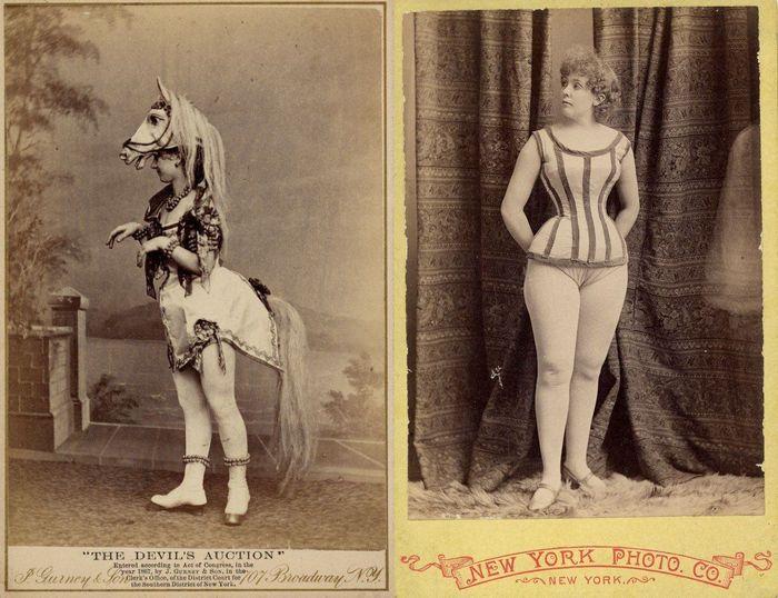 Экзотические танцовщицы конца XIX-го века (21 фото)