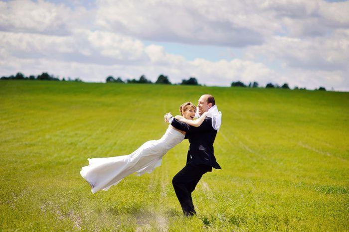 Креативные свадебные фотографии (111 фото)