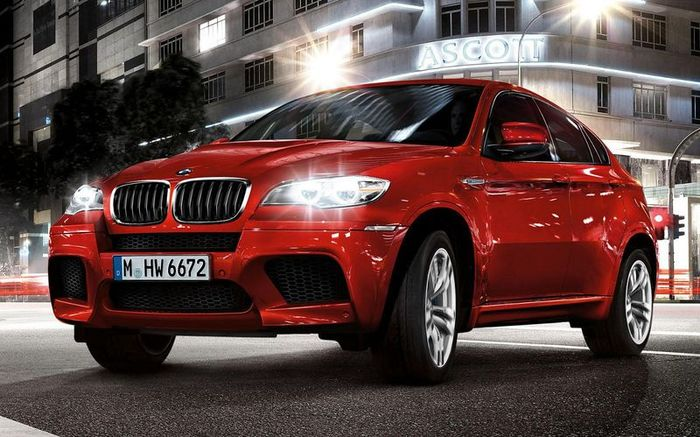 Обновленный BMW X6 M 2013 модельного года (5 фото+2 видео)