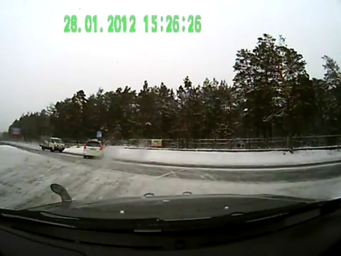 Авария дня часть 442 (фото+видео)