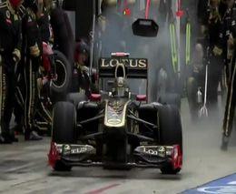 Подборка аварий на гонках Формулы-1