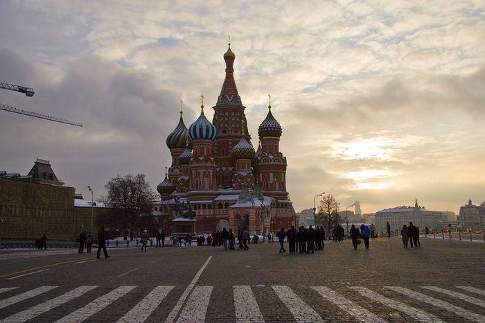 москва, 1 января,