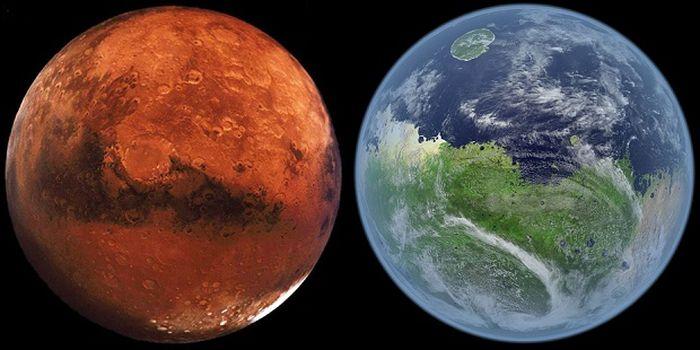 марс, модель, жизнь,