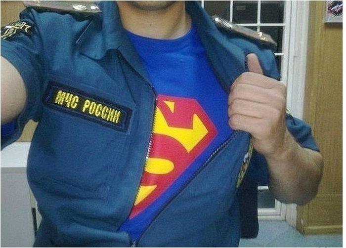 Улетное фото костюм, мчс, прикол, супергерой, супермен