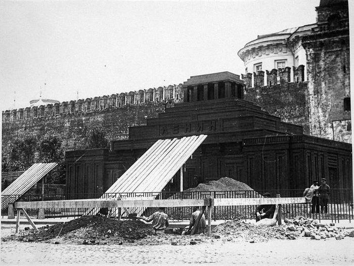 ленин, мавзолей, ссср, строительство
