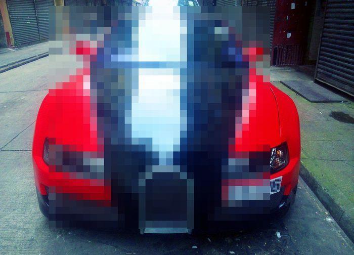 самоделкин, реплика, bugatti veyron supersport