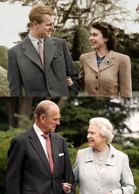 Фотоприкол онлайн бесплатно влюбленная пара, прошлое и настоящее, старики, тогда и сейчас