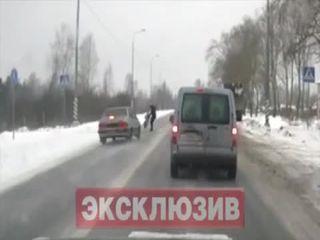 Под Петербургом лихач сбил мать с ребенком